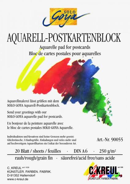 Goya Postkarten-Block DIN A6
