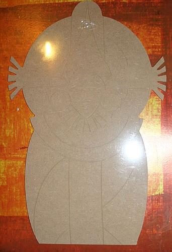 Holz-Dekor Ethno Maske 2