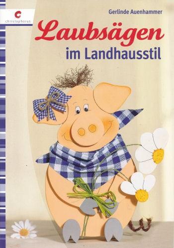 Buch Laubsägen im Landhausstil