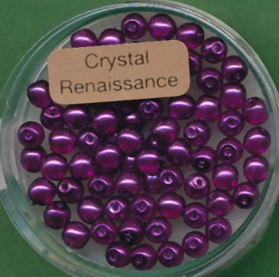 Crystal Renaissance 4mm lila