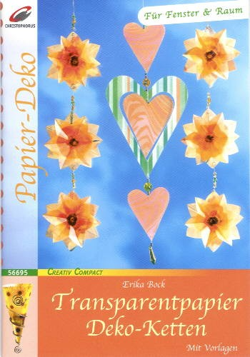 Buch Transparentpapier Deko-Ketten