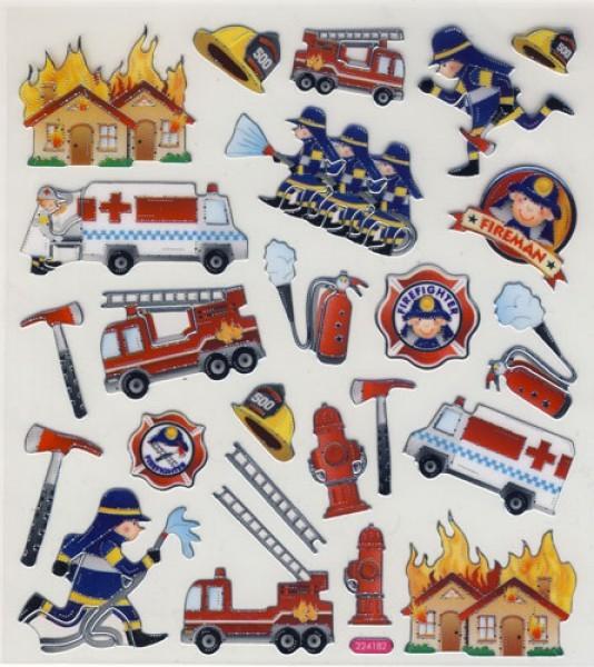 Design Sticker Feuerwehr