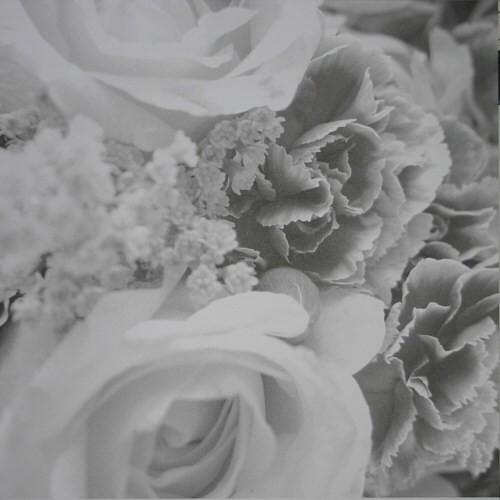 Scrapbook-Blatt Flowers