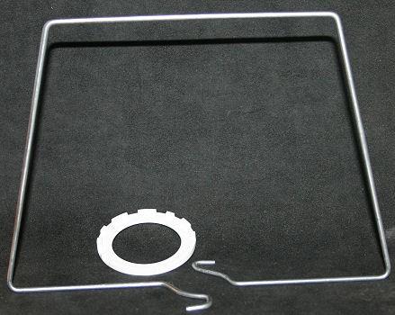 Draht für Lampenschirm H:15cm