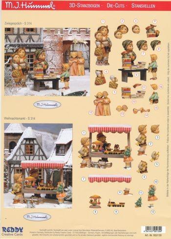 3D-Stanzbogen Hummel 950139