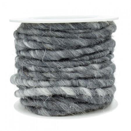 Wollschnur 5mm grau