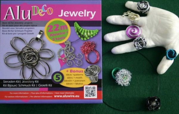 Alu Deco Jewelry Schmuck-Kit