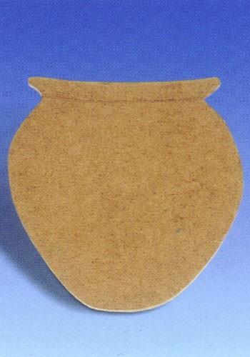 Holz-Dekor Vase