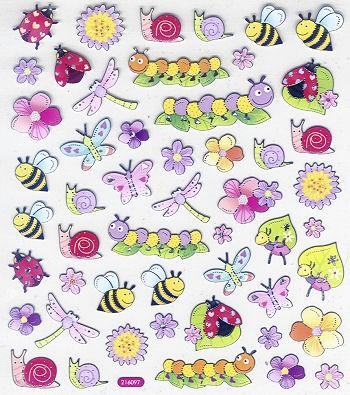 Hobby-Design Sticker Kindliche Tiere