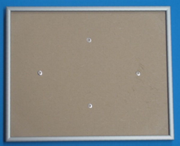 Rahmen silber 40,8 x 50,9cm