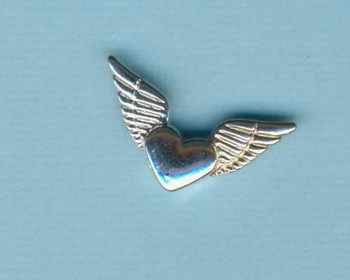 57281a_Metallzierteil-Flügel--Herz-26mm-silber