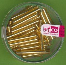Glasstifte Silbereinzug gold 20mm 10g