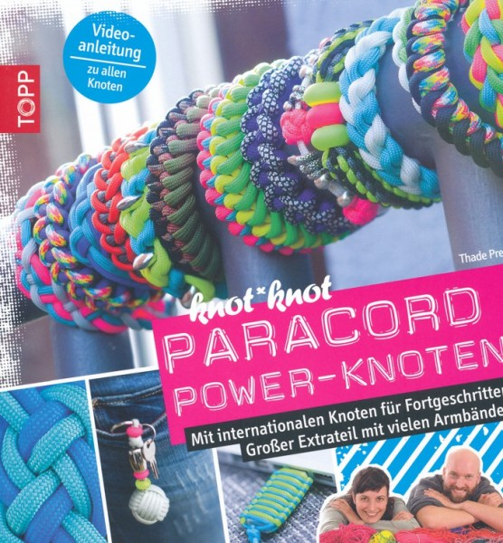 Buch Paracord Power-Knoten