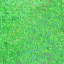 Wachsplatte 20x10cm irisierend dunkelgrün