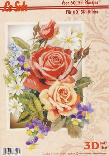 3D Motivbuch Blumen A4