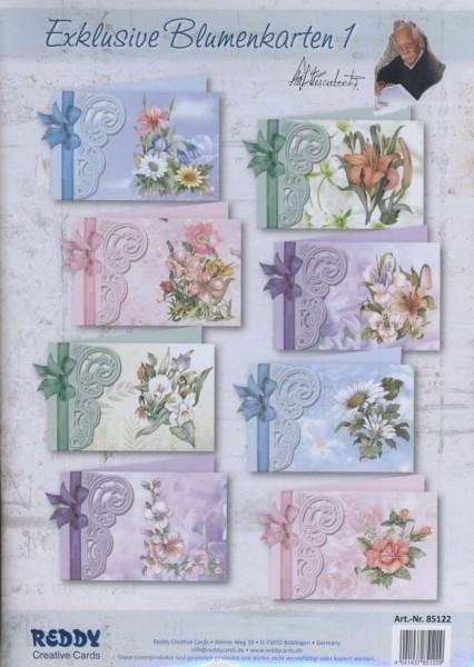 Exklusive Blumenkarten 1 Staf Wesenbeek