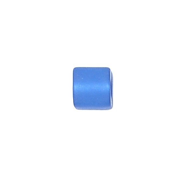 Polariswürfel Großloch blau matt 6x6mm