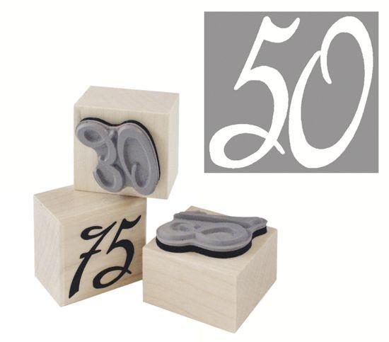 """Stempel """"50"""""""