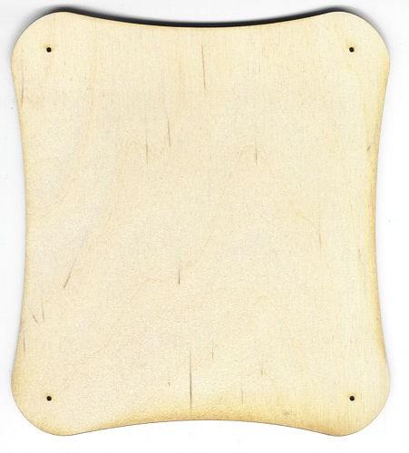 Holz-Deko Schild 18cm