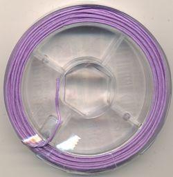Schmuckkordel lila 0,8mm 10m