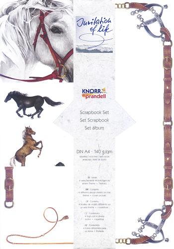 Scrapbook-Set Pferd