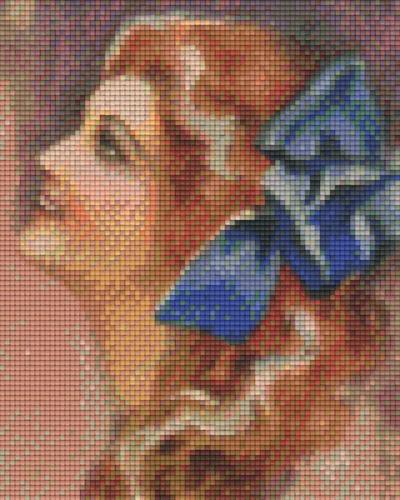 px804075_Pixelset-Frau-mit-blauer-Schleife