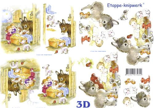 3D Bogen Krippenspiel