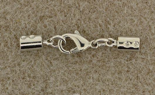 Karabiner-Verschluss 3mm silber