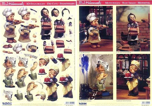 3D-Stanzbogenset Hummel 950121
