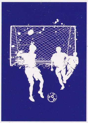 My Style Schablone Fußball