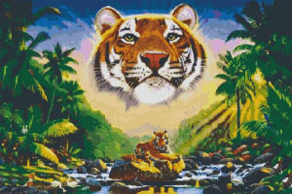 830044 Pixelset Tiger 10