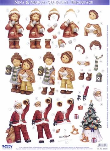 Motivbogen Nina u. Marco Weihnachtszeit