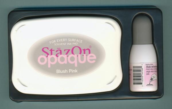 4512032 StazOn Set Stempelkissen und Nachfüllfarbe rosa