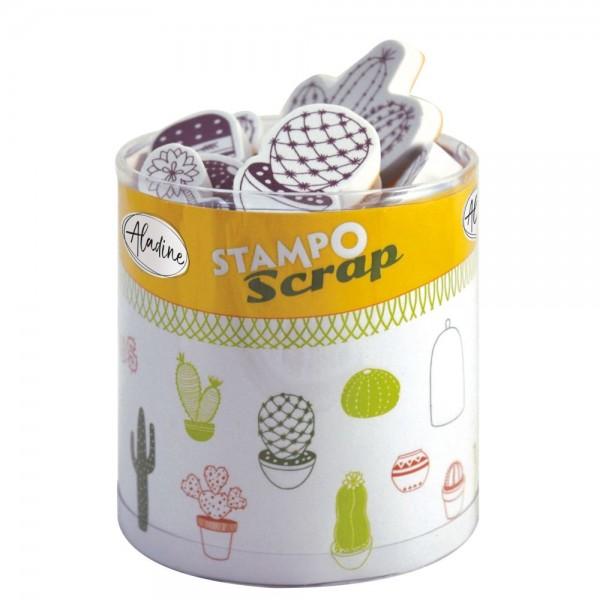 4550314_Stampo-Scrap-Stempelset-Kaktus