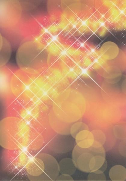 Transparentpapier Sterne gelb