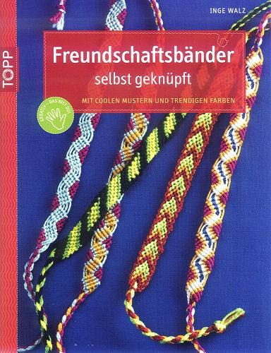 Buch Freundschaftsbänder selbst geknüpft