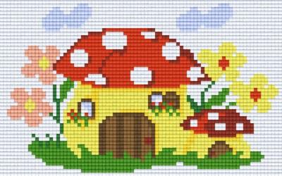 px802014_Pixelset-Fliegenpilzhaus
