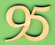 Jubiläumszahl 95 - 33mm
