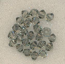 Swarovski Glasschliffperlen 3mm black diamond