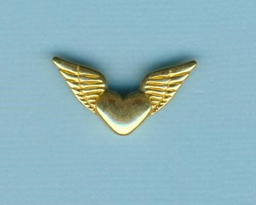 572104a_Metallzierteil-Flügel-Herz-26mm-gold