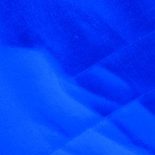 Wachsplatte 20x10cm metallic blau