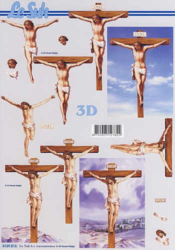 3D Bogen Kreuzigung