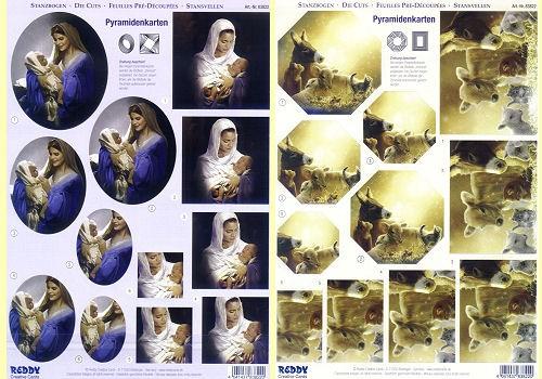 3D Stanzbogen Weihnacht 2