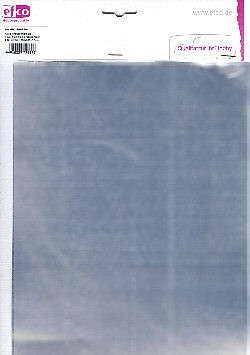 Alufolienzuschnitte 200x300 silber
