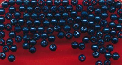 Wachsperlen 3 mm dunkelblau
