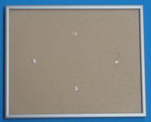 Rahmen silber 21,1 x 26,2cm