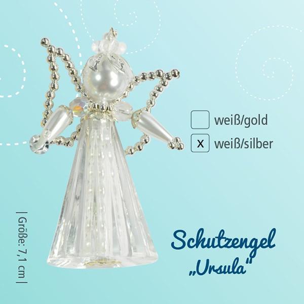 Bastelset Schutzengel Ursula weiß-silber