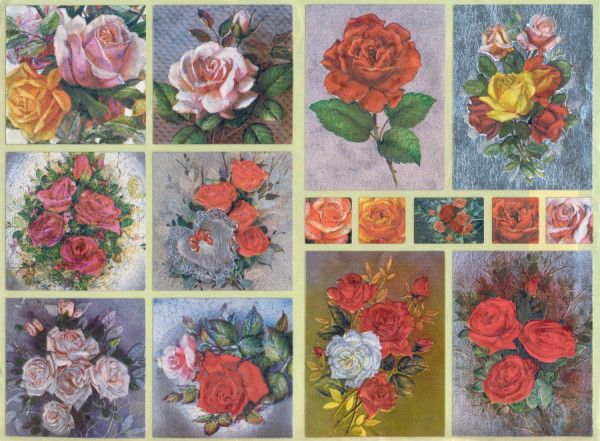 Dufex Sticker Rosen