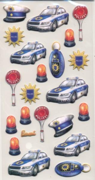Creapop Sticker Polizei