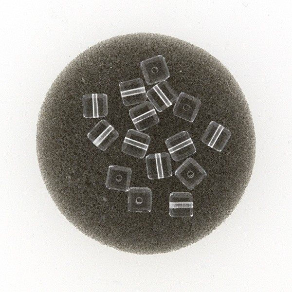 Swarovski Würfel 4mm kristall
